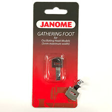 Janome Gathering Foot #200124007 Low Shank For Oscillating Hook Models