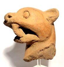 ART PRECOLOMBIEN - JAGUAR - COSTA RICA 600 / 900 AD - PRE-COLUMBIAN JAGUAR HEAD