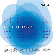 D'addario Helicore Hh616-3/4m Medium B-string Nickel Hybrid / Double Bass