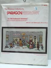 Paragon An Old Fashioned Christmas Crewel Stitch Kit 6431 Vintage 1978 NEW