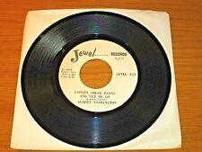 "BLUES / SOUL 45 RPM - ALBERT WASHINGTON - JEWEL 822 - ""LOOSEN THESE PAINS..."""