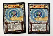 Drum of Water (2) L5R Legend of the Five Rings CCG Anvil of Despair 1996