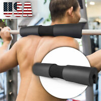 Barbell Pad Supports Squat Bar Weight Lifting Pull Up Neck Shoulder Protect US