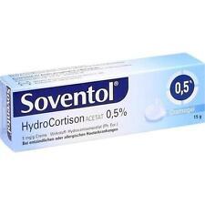SOVENTOL Hydrocortisonacetat 0,5% Creme 15 g PZN 10714350