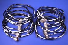 """12 Pasternack 48"""" SMA Male to N Male Cable Using RG223 Coax P/N: PE3519-48"""