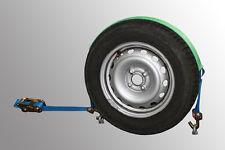 4x Spanngurt AUTO TRANSPORT 50mm Zurrgurt 5t Radsicherung, Autotransport PKW (5)
