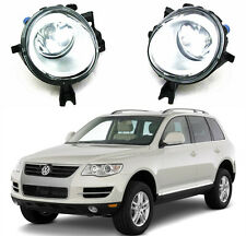 OEM Pair Halogen Front Fog Light Lamp FOR VW 02-10 New Touareg 7L6941699/6941700