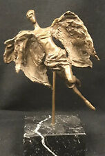 Bronze Angel Sculpture Campbell Mithun California Artist Mid Century Modern