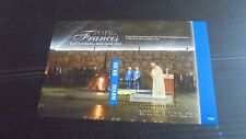 NEVIS 2014 POPE FRANCIS VISIT TO ISRAEL   MNH (A)