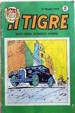 FUMETTO IL TIGRE ANNO 1 N.2 1966 MONDADORI ESSO