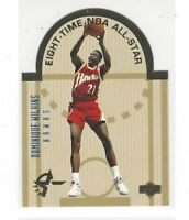 1993-94 UPPER DECK SE BASKETBALL DIE CUT ALL-STARS EAST / WEST INSERT SINGLES