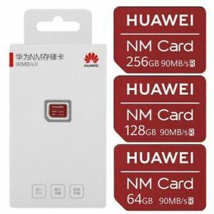 NUOVO Scheda di memoria nano HUAWEI NM Card 90 MB / s 256 GB / 128GB / 64GB V6R4