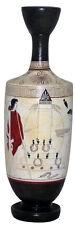 Lekythoi Vase Ancient Greek Museum Replica Reproduction