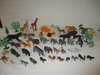 Zoo Animals Pretend Play Animals Toy Lot