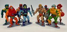 Vintage Masters of the Universe MOTU lot Wave 1: He-Man, Skeletor, & Co.