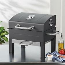 Expert Grill Premium Portable Charcoal Grill, Black and Stainless Steel