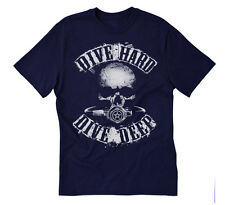DIVE scuba diving t-shirt - Dive Hard Dive Deep