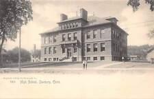 DANBURY, CT ~ HIGH SCHOOL ~ ROTOGRAPH PUB #5303 ~ c. 1903-06