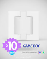 10 CALES TRAY INSERT INLAY NINTENDO GAME BOY GAME BOY COLOR GB GBC NEUVES
