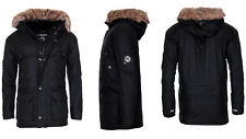 Geographical Norway Men's Very Warm Winter Jacket Parka Outdoor Functional