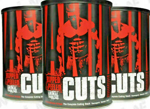 Universal Nutrition Animal CUTS 42 Packs Thermogenic Fat Burner & Weight Loss
