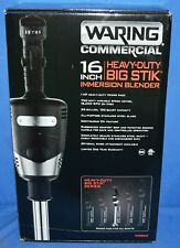 "Waring Commercial 16"" Heavy Duty Big Stik Immersion Blender Wsb60"
