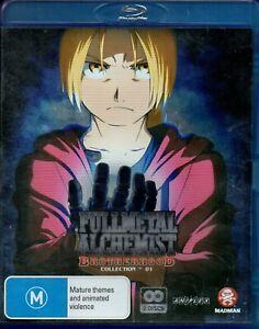 Fullmetal Alchemist Brotherhood Blu-ray 2 Disc Set Collection 01