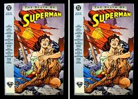 Death of Superman TPB 1st printing 1993 NM+ 2 Copies DC Comics