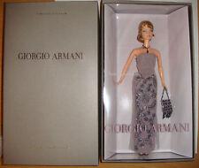 BARBIE GIORGIO ARMANI ANNO 2003 NUOVA BELLISSIMA IN CONFEZIONE ORIGINALE !!!!!!!