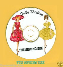 40 Doll Patterns on Cd Dolly Darling Fits Barbie & similar doll s 11.5""