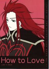 Tales of the Abyss doujinshi Luke x Asch How to Love Pink Power