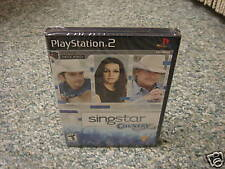 SingStar Country (PlayStation 2) NEW GAME ONLY