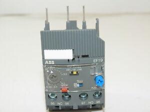 ABB EF19-6.3 Electronic Overload Relay 1.9-6.3A NEW 1yr Warranty