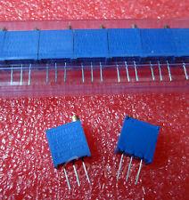 10pcs 3296W-101 3296 W 100 ohm Trim Pot Trimmer Potentiometer