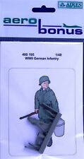 Aerobonus 480195 1/48 Resin German Infantry Figure WWII No.3
