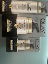 Olay 7 In One X 3 Moisturiser New Sealed
