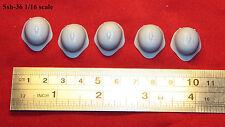 1:16 scale custom made ww2 Soviet Red Army Ssh-36 helmet Set of 5 pc