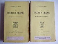 BONNEVILLE DE MARSANGY. LE CHEVALIER DE VERGENNES ; AMBASSADE A CONSTANTINOPLE