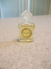 Rare Vintage Guerlain Mitsouko .17 oz Eau De Toilette Mini Perfume For Women