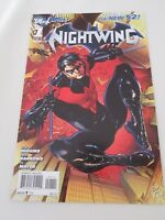 Nightwing # 1  (2011) NEW 52  BATMAN  DC COMICS   DICK GRAYSON  2nd PRINT