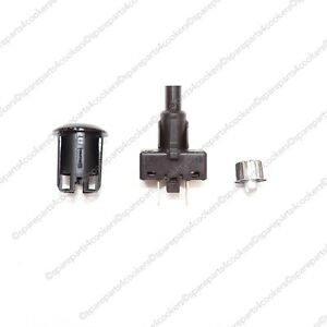 RANGEMASTER Genuine Ignition Switch and Button Silver A098236