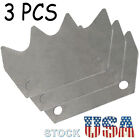 3Pcs Manure Spreader Paddle Beater Fit for Holland 145 185 195 Manure Spreaders