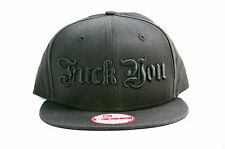 KING BABY COTTON BASEBALL CAP HAT FU IN BLACK ON BLACK