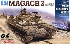 1/35 Dragon Israeli IDF Magach 3 w/ERA #3578