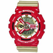 CASIO G-Shock G Shock Armbanduhr GA-110CS-4A Iron Man Edition Neu & Ovp -CS Rot