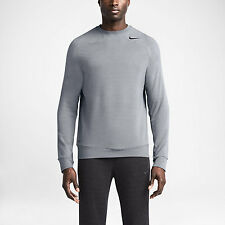 Nike Pro Training Dri-Fit Touch Fleece Crew Sudadera Entrenamiento running