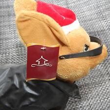 Robotic Weinner Dog - Christmas Hat & Leather Jacket