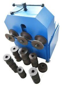 OPEN BOX! 110V 1500W Tube Pipe Bender Roller Round Multi-Function Rolling Bender
