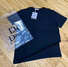 Authentic Christian Dior Paris T Shirt Black Size Medium RRP £360