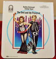 RCA VideoDisc CED - The Owl and the Pussycat, Barbara Streisand - RCA, c.1983
